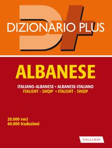 Dizionario Albanese plus Copertina del libro
