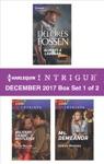 Harlequin Intrigue Decemeber 2017 - Box Set 1 Of 2