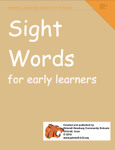 Sight Words for Early Learners