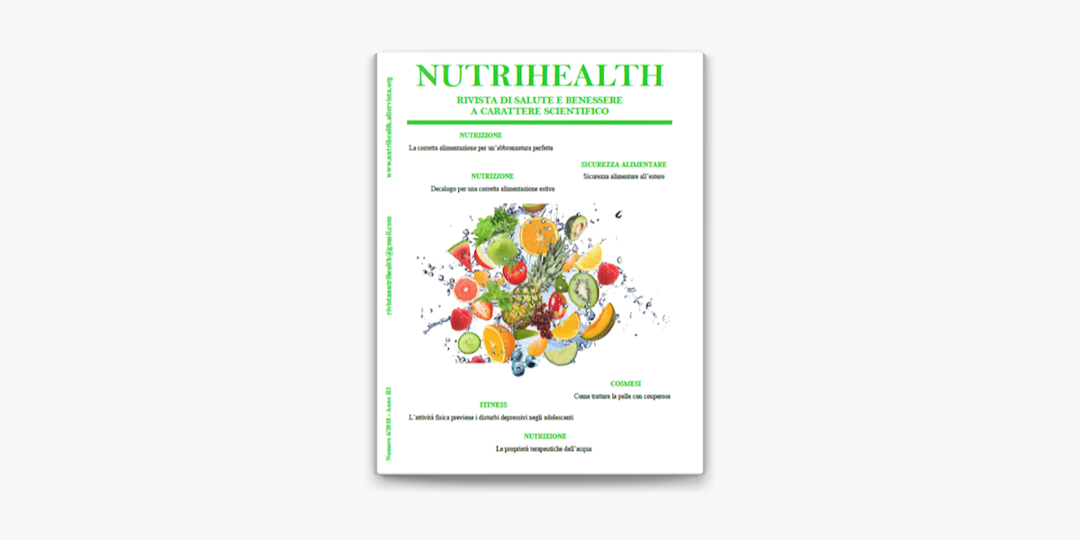 Nutrihealth Agosto 2018 En Apple Books
