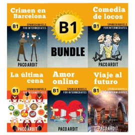 B1 Bundle Spanish Novels For Intermediates