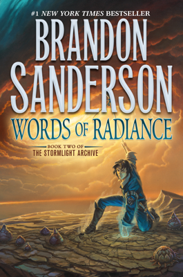 Words of Radiance - Brandon Sanderson book