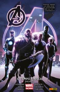 Avengers. Il tempo finisce 1 (Marvel Collection) Libro Cover
