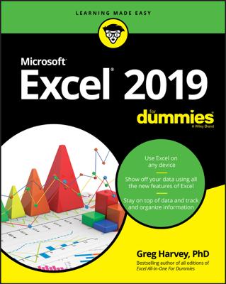 Excel 2019 For Dummies - Greg Harvey book