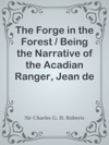 The Forge In The Forest  Being The Narrative Of The Acadian Ranger Jean De Mer Seigneur De Briart And How He Crossed The Black Abb And Of His Adventures In A Strange Fellowship