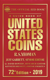 A Guide Book of United States Coins 2019 book