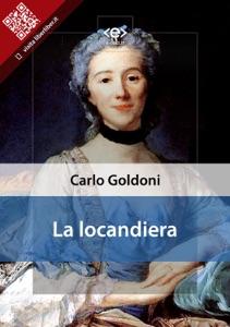 La locandiera di Carlo Goldoni Copertina del libro