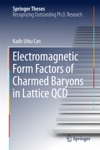 Electromagnetic Form Factors Of Charmed Baryons In Lattice QCD