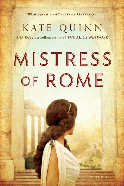 Mistress of Rome - Kate Quinn book cover