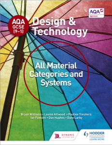 AQA GCSE (9-1) Design and Technology: All Material Categories and Systems Libro Cover