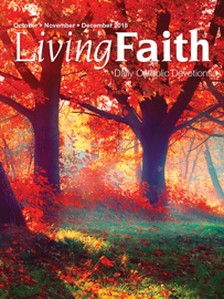 Living Faith October, November, December 2018 book