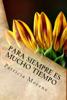 Patricia Morenz - Para siempre es mucho tiempo ilustración