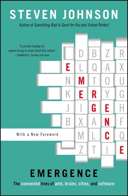 09634ad3f2d Emergence by Steven Johnson on Apple Books