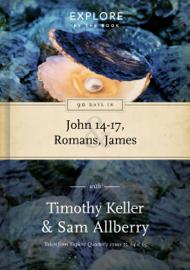 90 Days in John 14-17, Romans & James book