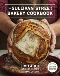 The Sullivan Street Bakery Cookbook by Jim Lahey Book Cover