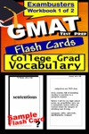 GMAT Test Prep Advanced Vocabulary Review--Exambusters Flash Cards--Workbook 1 Of 2