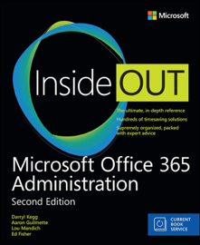 Microsoft Office 365 Administration Inside Out (Includes Current Book Service), 2/e