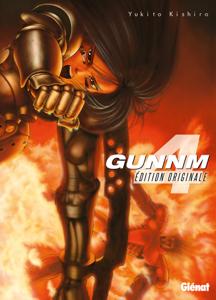 Gunnm - Édition originale - Tome 04 La couverture du livre martien