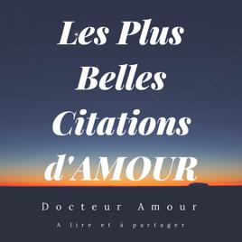 Les Plus Belles Citations Damour On Apple Books