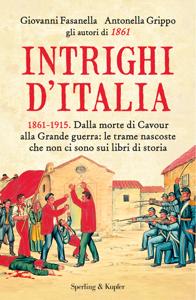 Intrighi d'Italia Copertina del libro