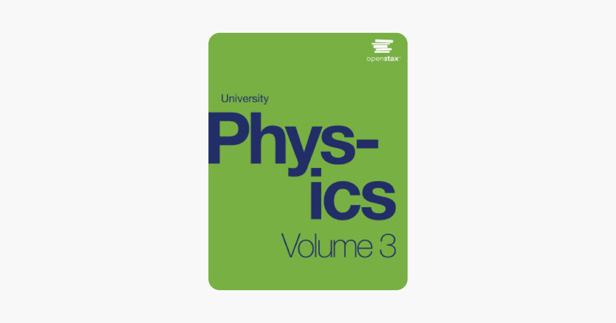 University Physics Volume 3 on Apple Books