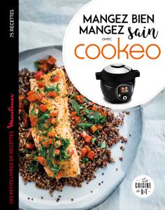 Cookeo Mangez bien, mangez sain La couverture du livre martien