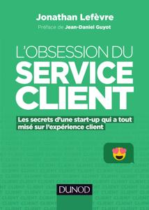 L'obsession du service client La couverture du livre martien