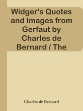 Widger's Quotes and Images from Gerfaut by Charles de Bernard / The French Immortals: Quotes And Images
