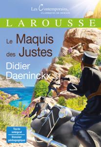 Le Maquis des Justes La couverture du livre martien