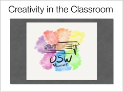 Creativity in the Classroom