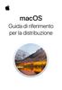 Apple Inc. - Guida di riferimento per la distribuzione di macOS artwork