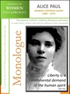 Profiles Of Women Past  Present - Alice Paul - Womens Suffrage Leader 1885  1977