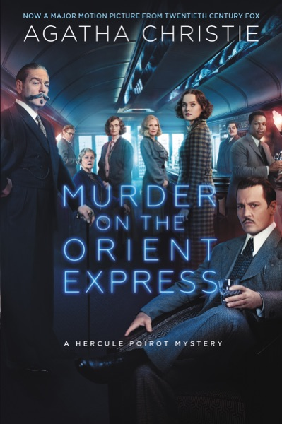 Murder on the Orient Express - Agatha Christie book cover