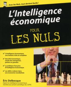 L'intelligence économique Pour les Nuls La couverture du livre martien