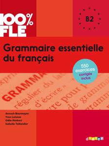 Grammaire essentielle du français niv. B2 - Ebook La couverture du livre martien