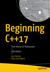 Beginning C++17 La couverture du livre martien