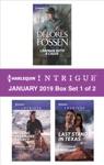 Harlequin Intrigue January 2019 - Box Set 1 Of 2