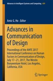ADVANCES IN COMMUNICATION OF DESIGN