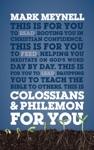 Colossians  Philemon For You