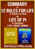 Summary of 12 Rules for Life: An Antidote to Chaos by Jordan B. Peterson + Summary of Life of Pi by Yann Martel 2-in-1 Boxset Bundle