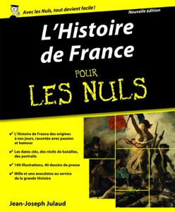 L'Histoire de France Pour les Nuls Couverture de livre