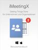 Christian Lackner - iMeetingX Benutzerhandbuch Grafik