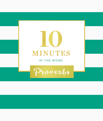 Zondervan - 10 Minutes in the Word: Proverbs book