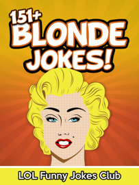 151+ Blonde Jokes! book
