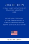 2010-01-08 Energy Conservation Program - Energy Conservation Standards For Certain Consumer Products Dishwashers Dehumidifiers US Energy Efficiency And Renewable Energy Office Regulation EERE 2018 Edition