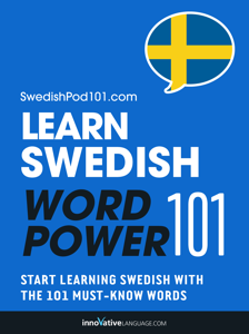 Learn Swedish - Word Power 101 Cover Book