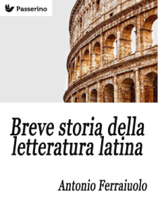 Breve storia della letteratura latina Copertina del libro