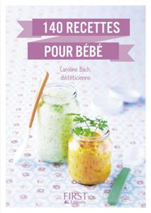 Le Petit livre de 140 recettes pour bébé La couverture du livre martien