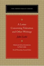 A Letter Concerning Toleration and Other Writings book