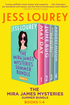 Mira James Mysteries Summer Bundle, Books 1-4 (May, June, July, and August)
